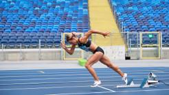 Trening w biegu na 400 m kobiet